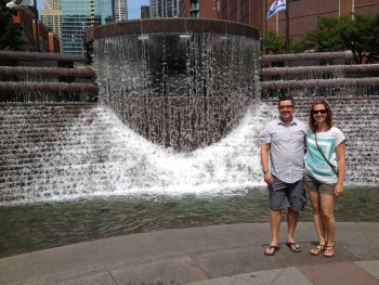 Ricky and Katherine in Chicago