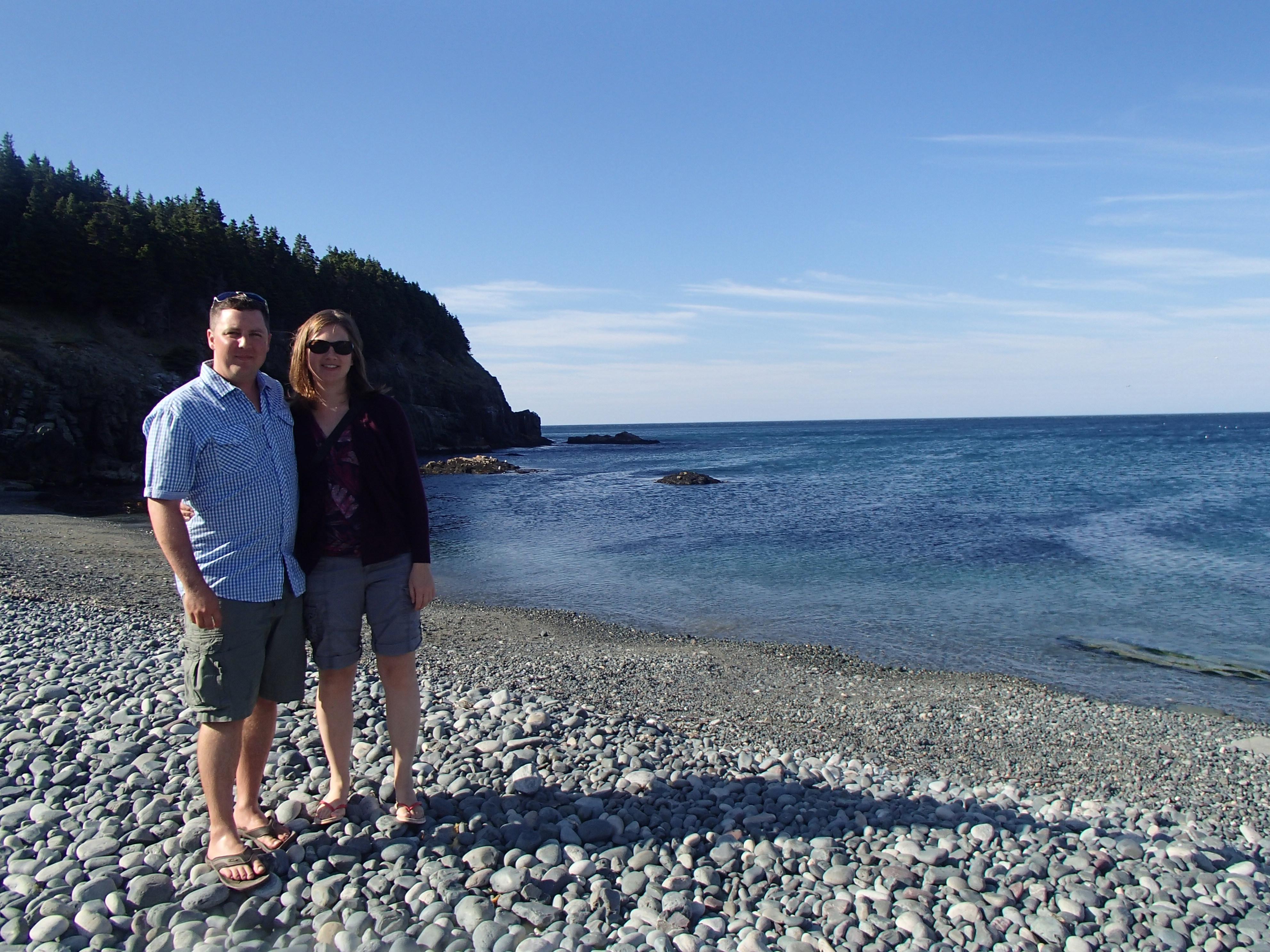 Katherine & Ricky in Newfoundland