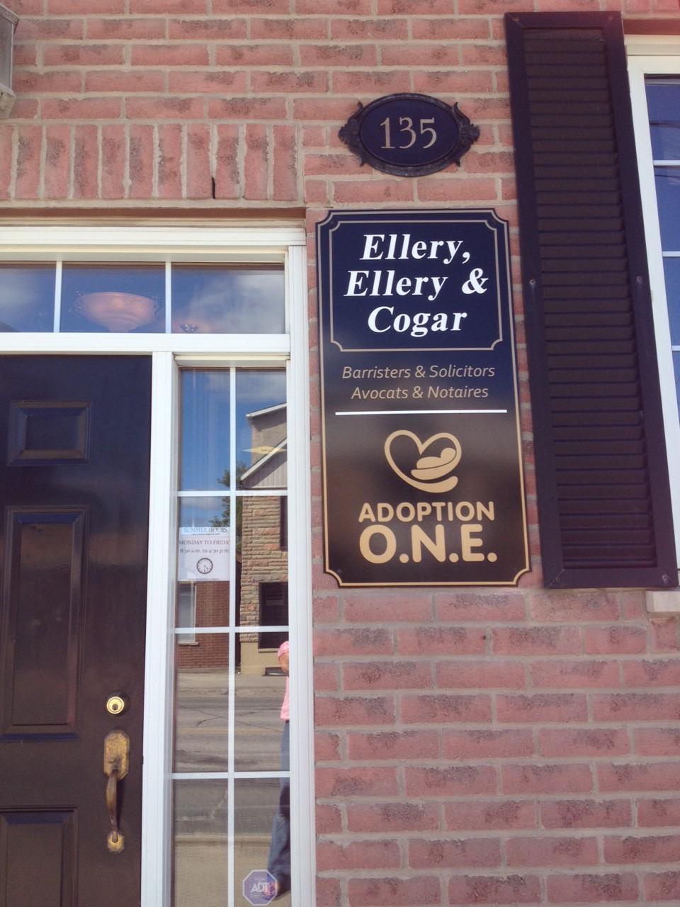 Door signage 1 closeup
